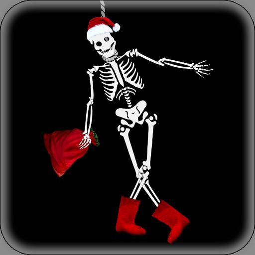 Cheerful Skeleton Live Wallpaper