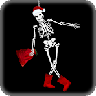 Cheerful Skeleton LWP icon