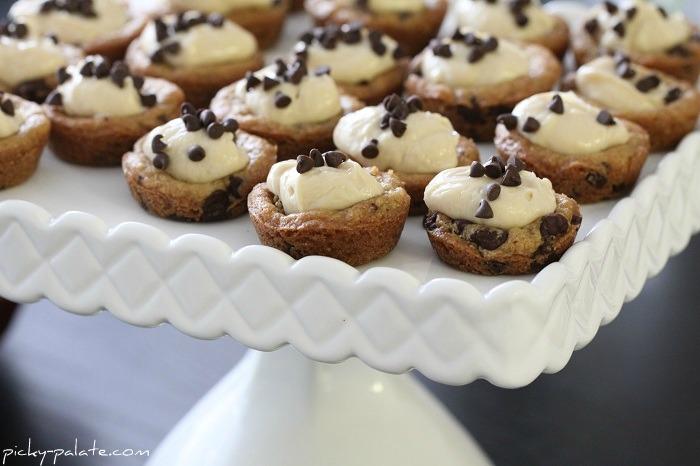 Mini Chocolate Chip Cookie Cups Recipe