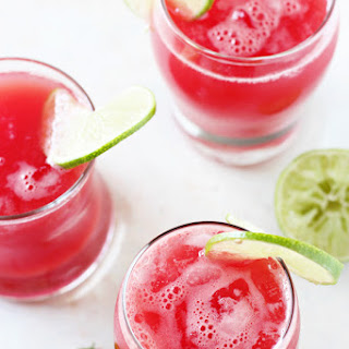 Watermelon Basil Agua Fresca Recipe
