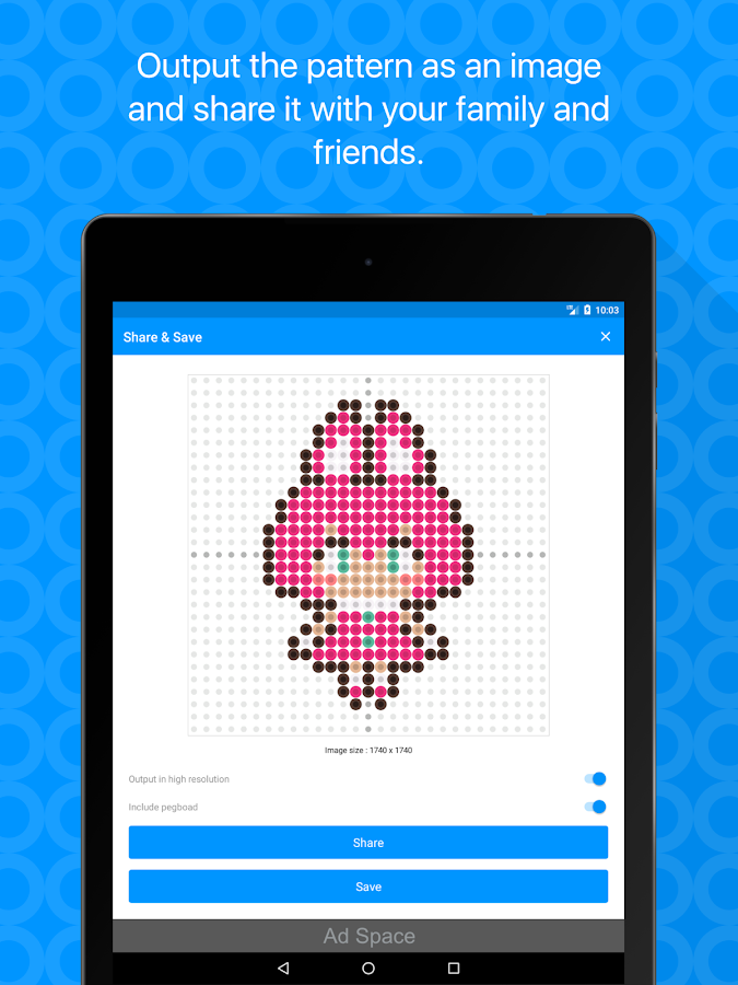 Beads Creator - Bead Pattern Editor- screenshot