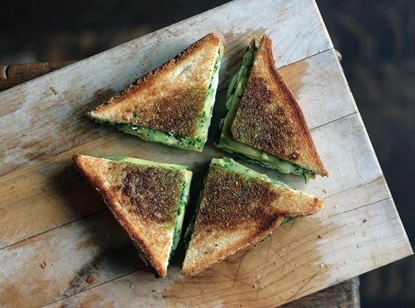 From Tastespotting Dot Com/features/green-goddess-grilled-cheese-sandwich-recipe
