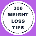 300 Weight loss tips icon