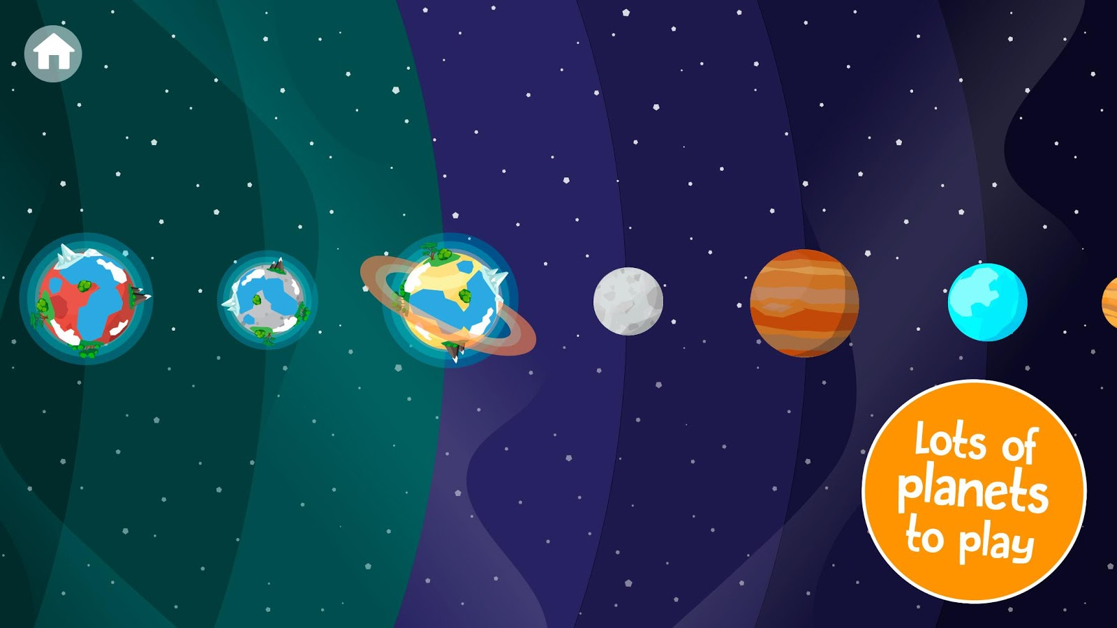 Comomola Planets- screenshot