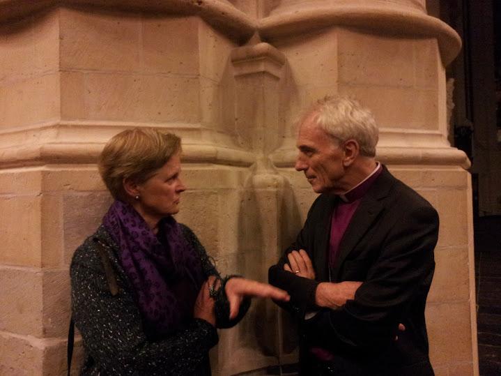 Vercammen in gesprek met Tina Geels van de Vrijzinnig Hervomden