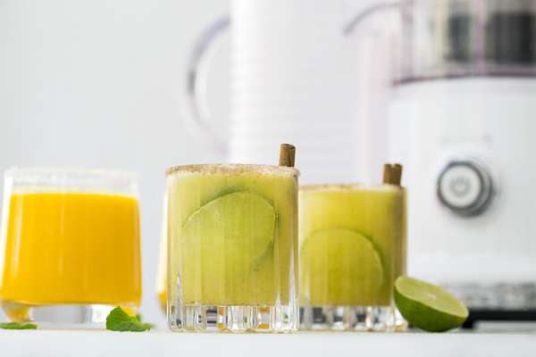 Freshly Squeezed Juice Cocktail (and Mocktail!) Recipe