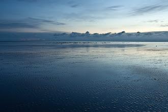 Photo: Blaue Stunde auf der Sandbank #2
