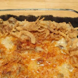 French Fried Onion Potato Casserole.