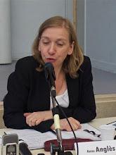 Photo: Anne Anglès, professeure d'histoire au lycée Léon Blum à Créteil