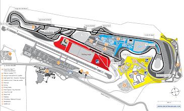 Photo: Et voici le plan officiel du circuit pour vous y retrouver !
