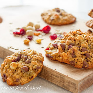 Oats Fruit and Nut Browned Butter Breakfast Cookie