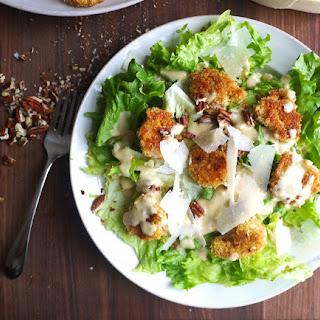 Creole Shrimp Caesar Salad.