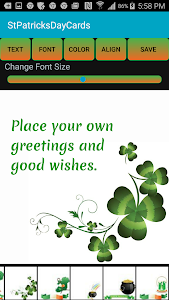 Free St. Patrick's Day eCards screenshot 3