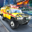 Emergency Driver Sim: City Hero icon