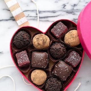Red Wine Chocolate Truffles.