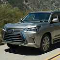 City SUV Off road Lexus LX 570 Parking icon