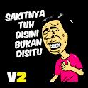 Stiker Lucu WAStickerApps icon