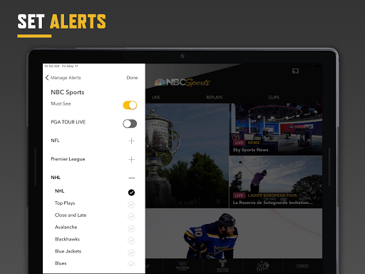 NBC Sports screenshot 9