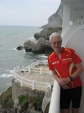 Photo: Hotel balcony in Gibraltar