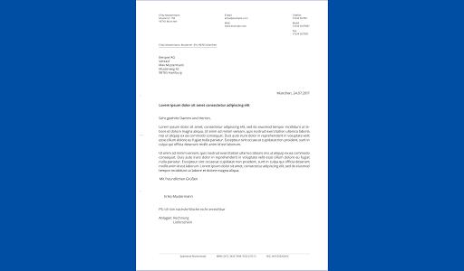 Briefe schreiben u2013 PDF zum Versenden oder Drucken 1.2.1 screenshots 8