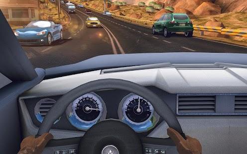 Traffic Xtreme 3D: Fast Car Racing & Highway Speed Screenshot