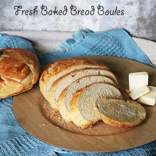 Bread Boules.