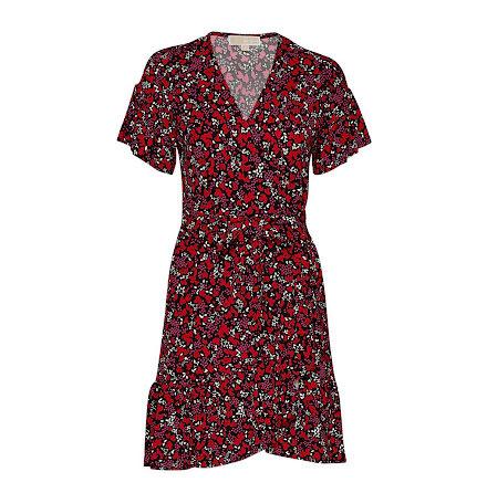 Elv Leaf Wrap Dress - Michael Kors