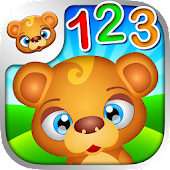 123 Kids Fun NUMBERS Math Game