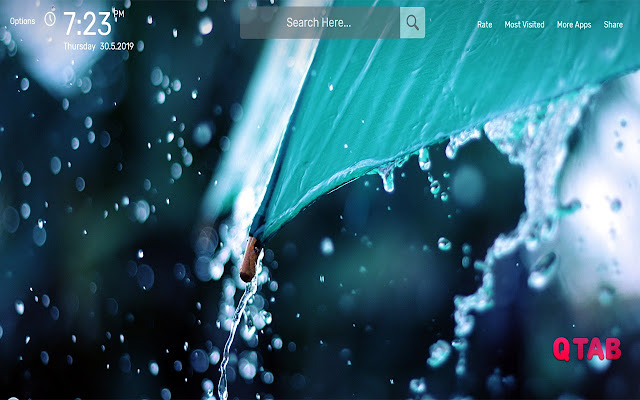 Rain Wallpapers Hd Theme