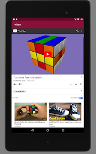 Cool Rubik's Cube Patterns Pro Screenshot