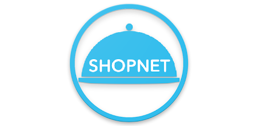 Application for checking accounts paid with SHOPNET