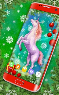 Majestic Unicorn Live Wallpaper - náhled