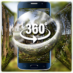 (3D VR Panoramic) Forest oxygen bar live wallpaper Icon