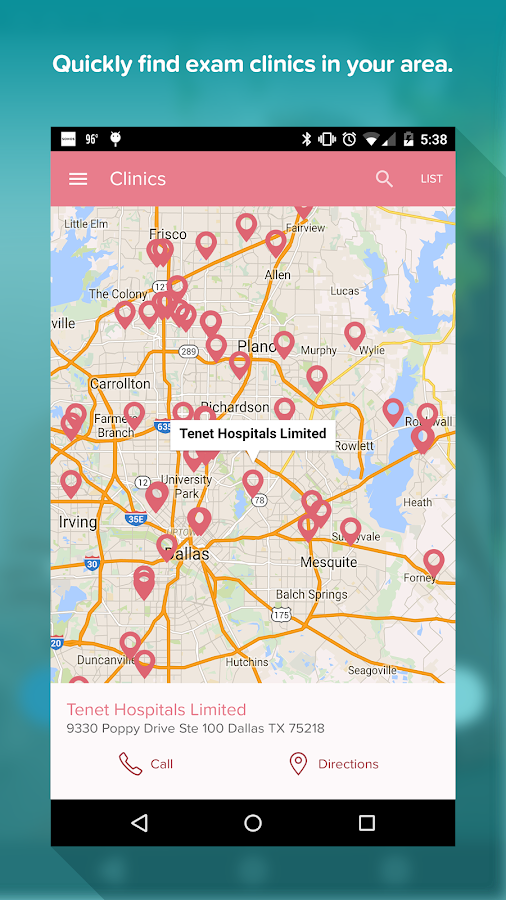 Early Detection Plan- screenshot