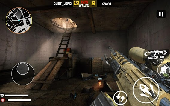 Terrorist Hunter: Cave Raid apk screenshot