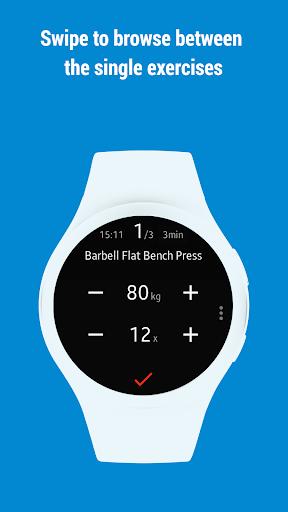 GymRun Workout Log & Fitness Tracker screenshots 10