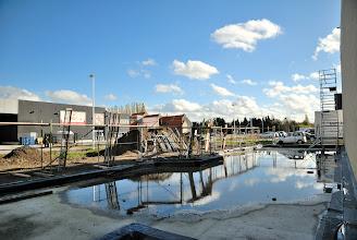 Photo: 02-11-2012 © ervanofoto De stelling in aanbouw.