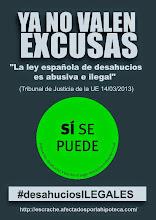 Photo: No habemus mas desahucios.