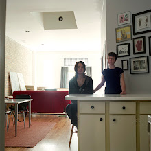 Photo: title: Jenn Sichel & Kristine Moss, Chicago, Illinois date: 2012 relationship: friends, art, met through Laura Fried years known: Jenn 5-10, Kristine 0-5