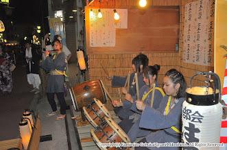 Photo: 【平成24年(2012) 宵宮】  桟敷での演舞。