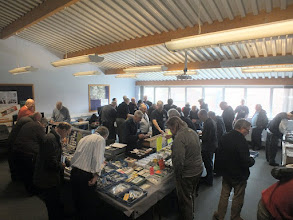 Photo: 015 A glimpse of the huge 009 Society Members Sales and Recycling service in full swing .