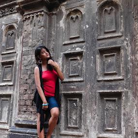 Mind is our great friend by Swati Mukherjee - People Portraits of Women