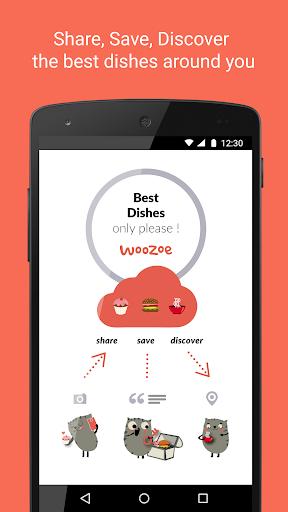 Woozoe - Restaurant dish recos