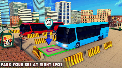 Modern Bus Drive 3D Parking new Games-FFG Bus Game apktram screenshots 1