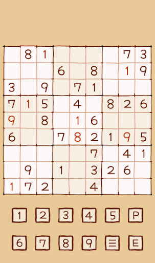 warm sudoku screenshot 3