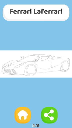 How To Draw Cars - HTDraw Cars 0.0.01 screenshots 1