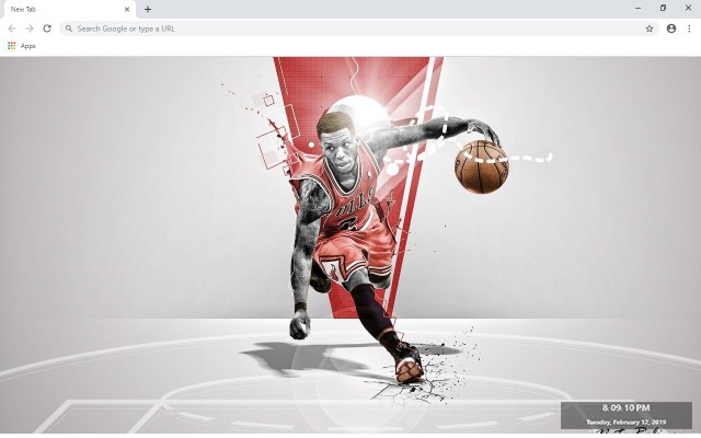 Chicago Bulls New Tab & Wallpapers Collection