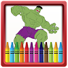 Super Hero Coloring Book