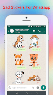 Sad Stickers For Whatsapp Screenshot