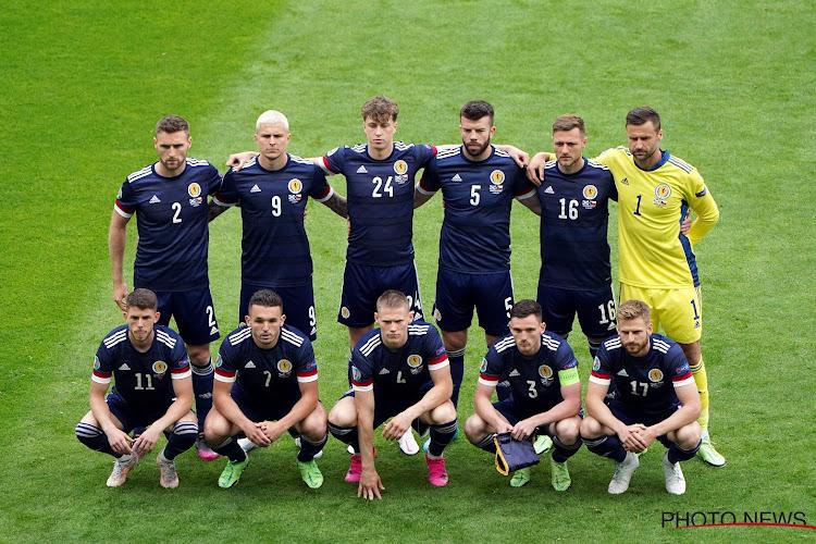 Scotland team vs Czech Republic 14 June 2021